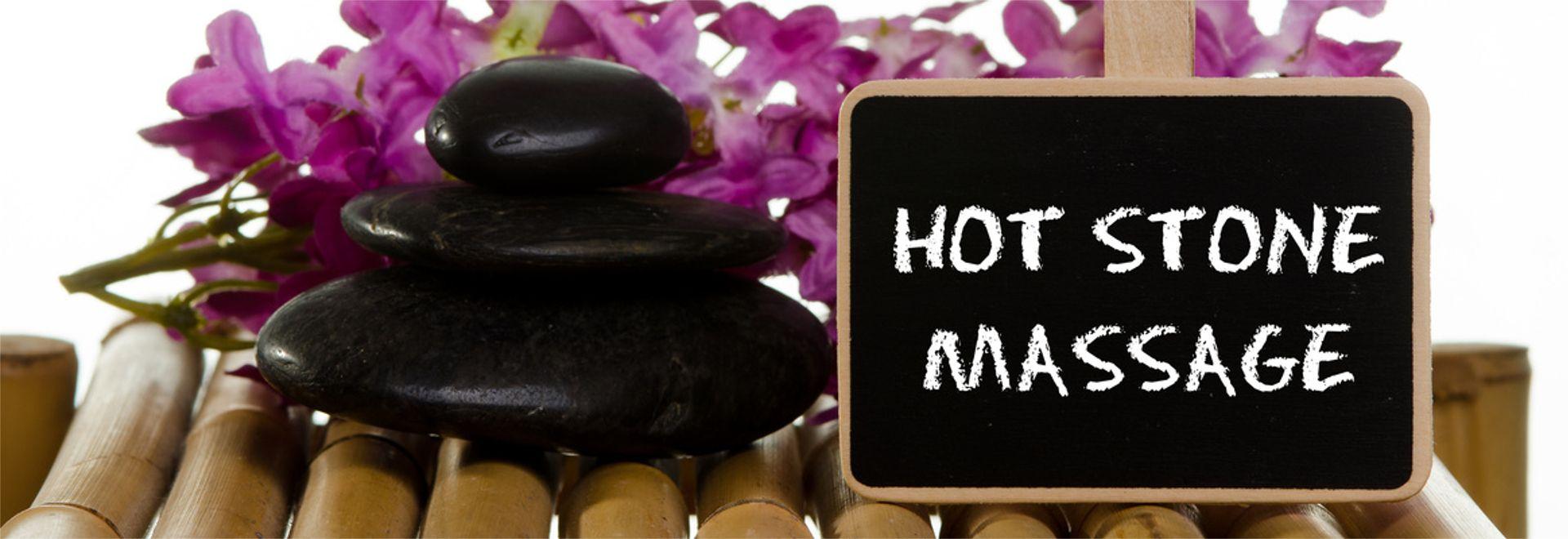 die Hot-Stone-Massage im Wellnesshotel anbieten können